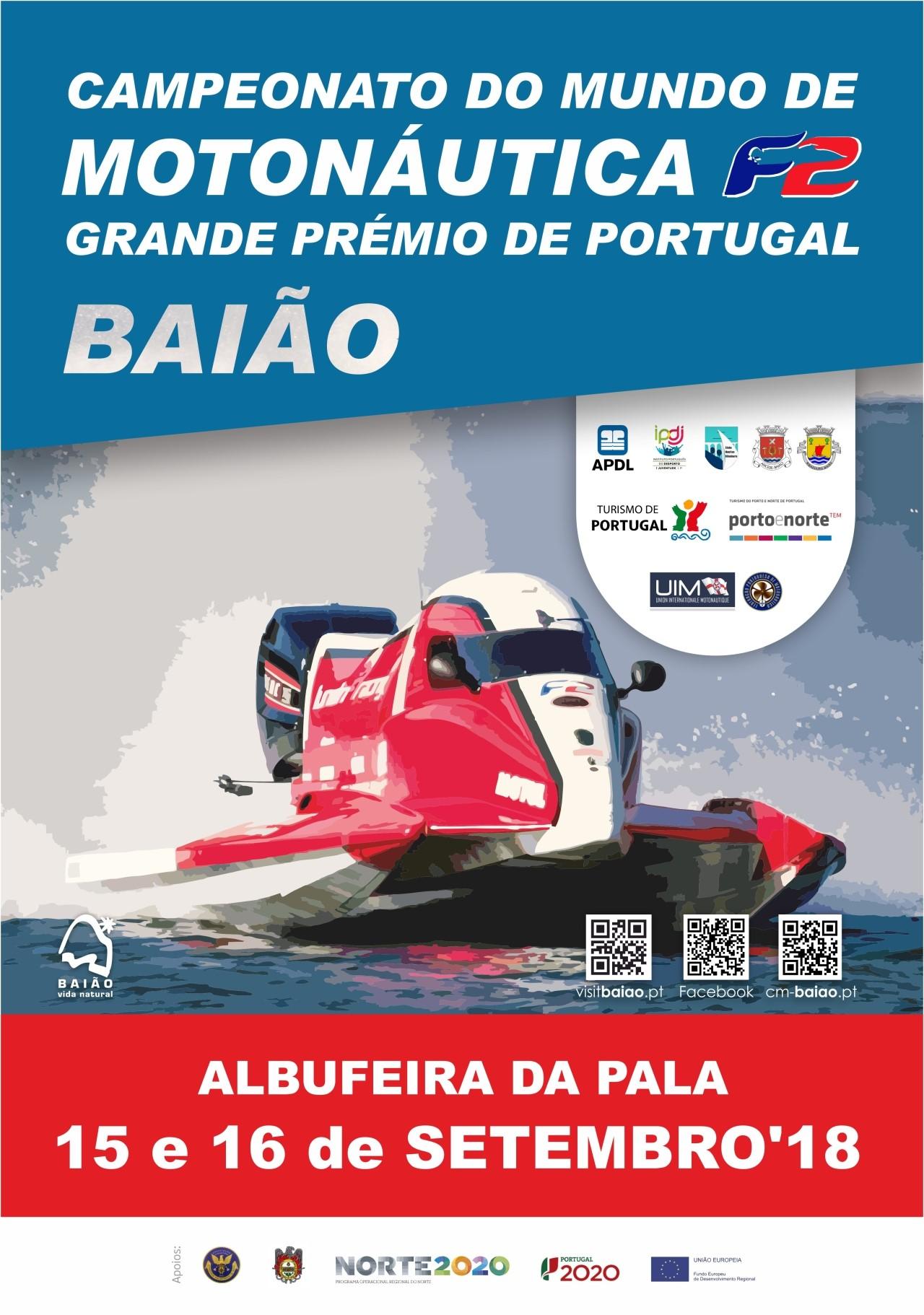 O Campeonato do Mundo de Motonáutica F2 está de volta ao Rio Douro!
